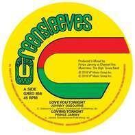 Johnny Osbourne /Prince Jammy - Love You Tonight (4-Track Ep)