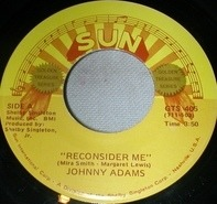 Johnny Adams - Reconsider Me / Release Me