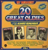 Johnny Burnette, Fabian, Bobby Vee, ... - 20 Great Oldies I'll Always Remember Vol. 1