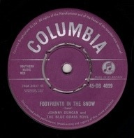 Johnny Duncan & His Blue Grass Boys - Footprints In The Snow