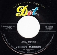 Johnny Maddox And His Orchestra - Asia Minor / Shell Happy