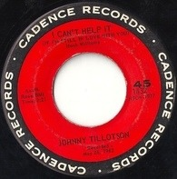 Johnny Tillotson - I Can't Help It / I'm So Lonesome I Could Cry