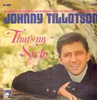 Johnny Tillotson - That's My Style