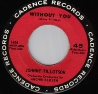 Johnny Tillotson - Without You / Cutie Pie