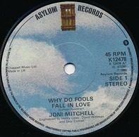 Joni Mitchell - Why Do Fools Fall In Love