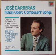 José Carreras - Italian Operas Composers' Songs