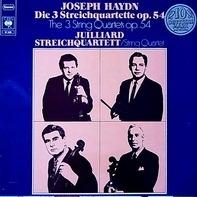 Haydn - Die 3 Streichquartette Op. 54 (Juilliard String Quartet)