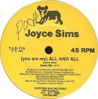Joyce Sims - (You Are My) All And All