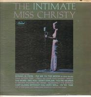 June Christy - The Intimate Miss Christy