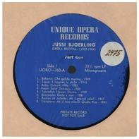 Jussi Bjoerling - Opera Recital