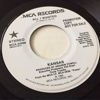 Kansas - All I Wanted