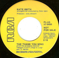 Kate Smith - The Thank You Song