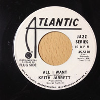 Keith Jarrett - All I Want