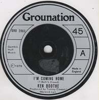 Ken Boothe - I'm Coming Home