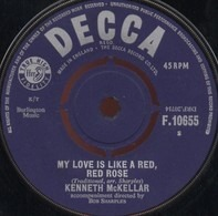 Kenneth McKellar - My Love Is Like A Red, Red Rose