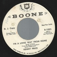 Kenny Price - I'm A Long Way From Home
