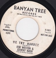 Kim Weston And Johnny Nash - My Time / We Try Harder