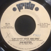 Kim Weston - Lift Ev'ry Voice And Sing / This Is America