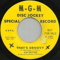 Kim Weston - That's Groovy