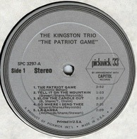 Kingston Trio - The Patriot Game
