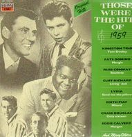 Kingston Trio, Fats Domino, ... - Those Were The Hits Of 1959