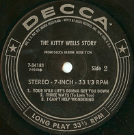Kitty Wells - Forever Young
