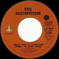 Kris Kristofferson - Why Me / Jesus Was A Capricorn