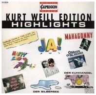 Kurt Weill - Kurt Weill Edition Highlights