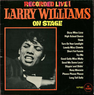 Larry Williams - Larry Williams On Stage!  Recorded Live