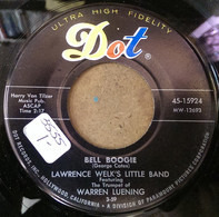 Lawrence Welk's Little Band Featuring The Trumpet Of Warren Luening - Bell Boogie / The Swingin' Bugler