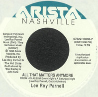Lee Roy Parnell - All That Matters Anymore