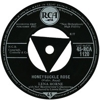 Lena Horne With Nat Brandwynne & His Orchestra - Honeysuckle Rose