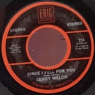 Lenny Welch / Bill Hayes - Since I Fell For You / The Ballad Of Davy Crockett