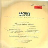 Leopold Mozart , Michael Haydn , Johann Christian Bach - Konzert D-Dur Für Trompete Und Orchester; Konzert D-Dur Für Trompete Und Orchester; Konzert B-Dur F