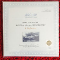 Leopold Mozart , Wolfgang Amadeus Mozart - Camerata Academica Salzburg , Bernhard Paumgartner - 4 Sinfonien