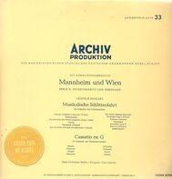 Leopold Mozart - Musikalische Schlittenfahrt, Cassatio ex G,, Bach-Orchester Berlin, Carl Gorvin