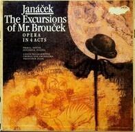 Leoš Janáček - The Czech Philharmonic Orchestra , František Jílek - The Excursions Of Mr. Brouček (Výlety Páně Broučkovy)