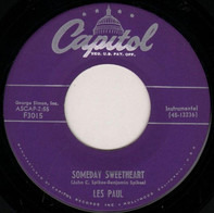 Les Paul / Les Paul & Mary Ford - Someday Sweetheart / Song In Blue