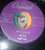 Les Paul & Mary Ford - Auctioneer / I'm A Fool To Care