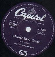 Les Paul & Mary Ford / Les Paul - Whither Thou Goest / Mandolino