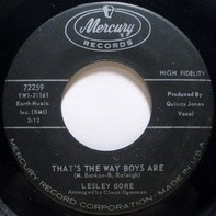 Lesley Gore - That's The Way Boys Are