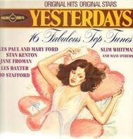 Les Paul And Mary Ford, Stan Kenton, Slim Whitman, etc - Yesterdays Memories: 16 Fabulous Top Tunes