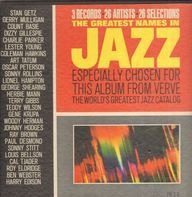 Lester Young, Sonny Rollins, Charlie Parker, Dizzy Gillespie a.o. - The Greatest Names In Jazz