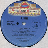 Lime - Take It Up / On The Grid