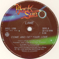 Lime - Come And Get Your Love / Your Love (Remix)