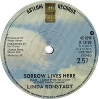 Linda Ronstadt - It's So Easy / Sorrow Lives Here