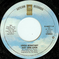 Linda Ronstadt - Just One Look / Love Me Tender