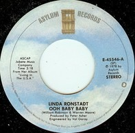 Linda Ronstadt - Ooh Baby Baby / Blowing Away
