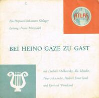 Liselotte Malkowsky , Illo Schieder , Peter Alexander , Herbert Ernst Groh Und Gerhard Wendland - Bei Heino Gaze Zu Gast