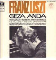 Liszt/ Geza Anda, The Philharmonia Orchestra, otto Ackermann - Piano Concerto No. 1 Es -Dur* Fantasie Hongroise